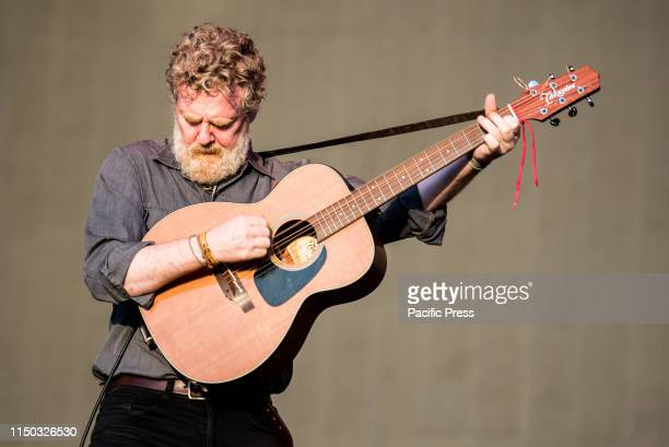 ROCKS FIRENZE FIRENCE ITALY The Irish singer Glen Hansard performing live on stage at the Firenze Rocks festival 2019 in Florence Italy opening for...