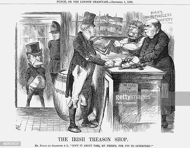 'The Irish Treason Shop' 1869 The Fenian movement was still causing the British Government problems The movement had not been pacified by the...