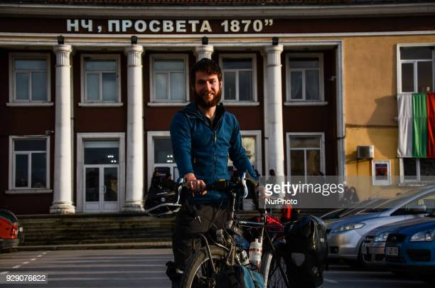The Irishman to ride his bicycle from London England to Tokyo Japan for near a year Ronan Devlin from Ireland and working in London for around 7...