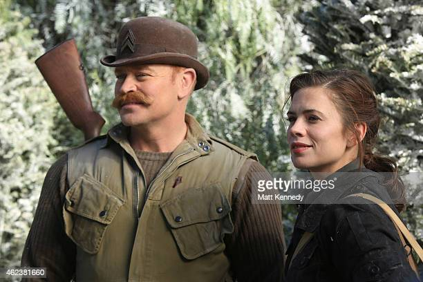 S AGENT CARTER 'The Iron Ceiling' Peggy is finally trusted with a mission and calls upon her trusted Howling Commandos squad for backup But her cover...