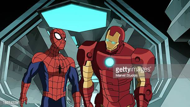 MAN 'The Iron Octopus' When Doctor Octopus takes over Iron Man's armors SpiderMan and team work to stop his attacks on OsCorp and SHIELD in a new...