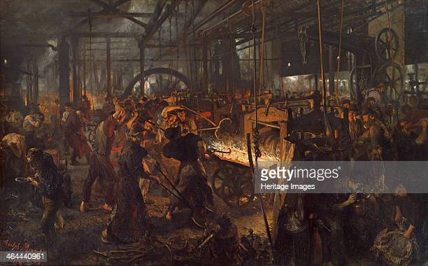 The Iron Rolling Mill 18731875 Found in the collection of the Staatliche Museen Berlin