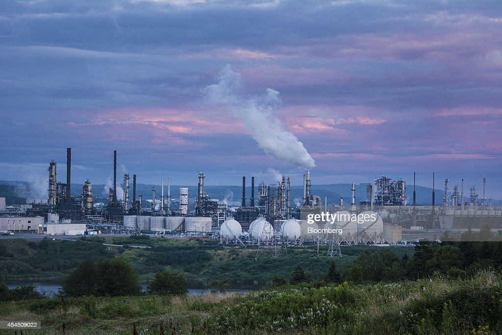 Tour Of Irving Oil Ltd. Refinery And Departing Chief Executive Officer Paul Brown Interview : News Photo