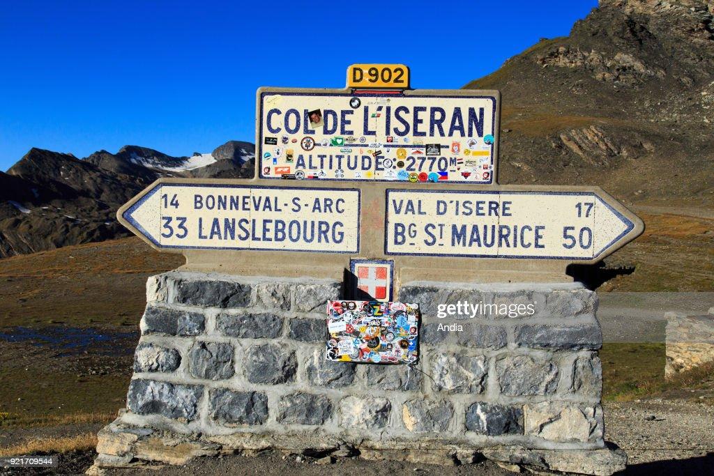The Iseran mountain pass. : News Photo