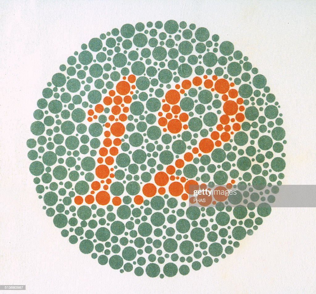 Colour Blindness Test Book