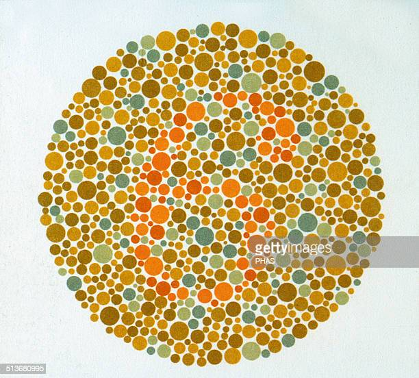 The Ishihara Color Test Color perception test for redgreen color deficiencies Ishihara Plate No 3