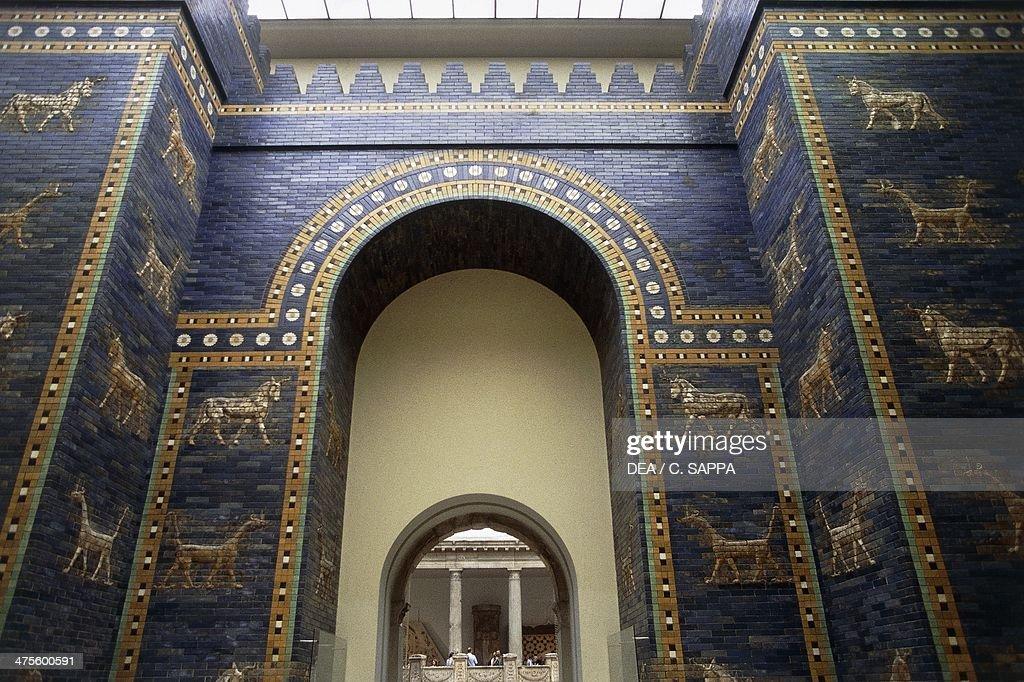 The Ishtar Gate... : News Photo