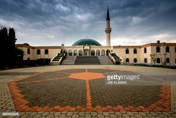 The Islam Centre of Vienna is pictured on April 14 2017 in Vienna Austria A debate is raging in Austria after a study suggested that Islamic...