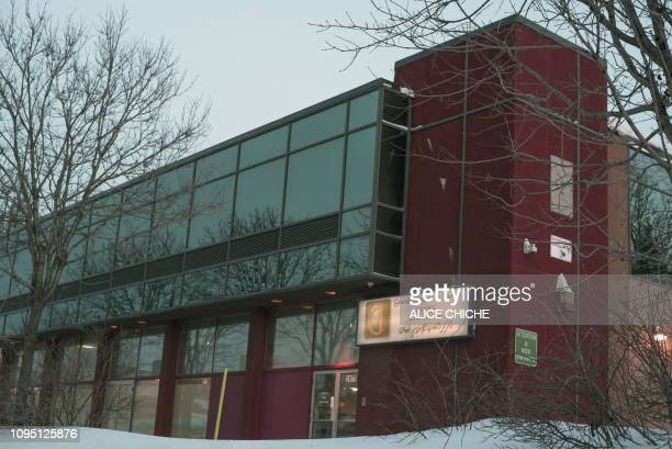 The Islamic Cultural Center of Quebec where an attack took place on January 29is viewed in Quebec City Canada on January 22 2019 Canadian Alexandre...