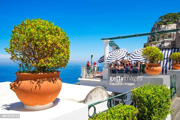 The Island Of Capri In The Gulf Of Naples Italy