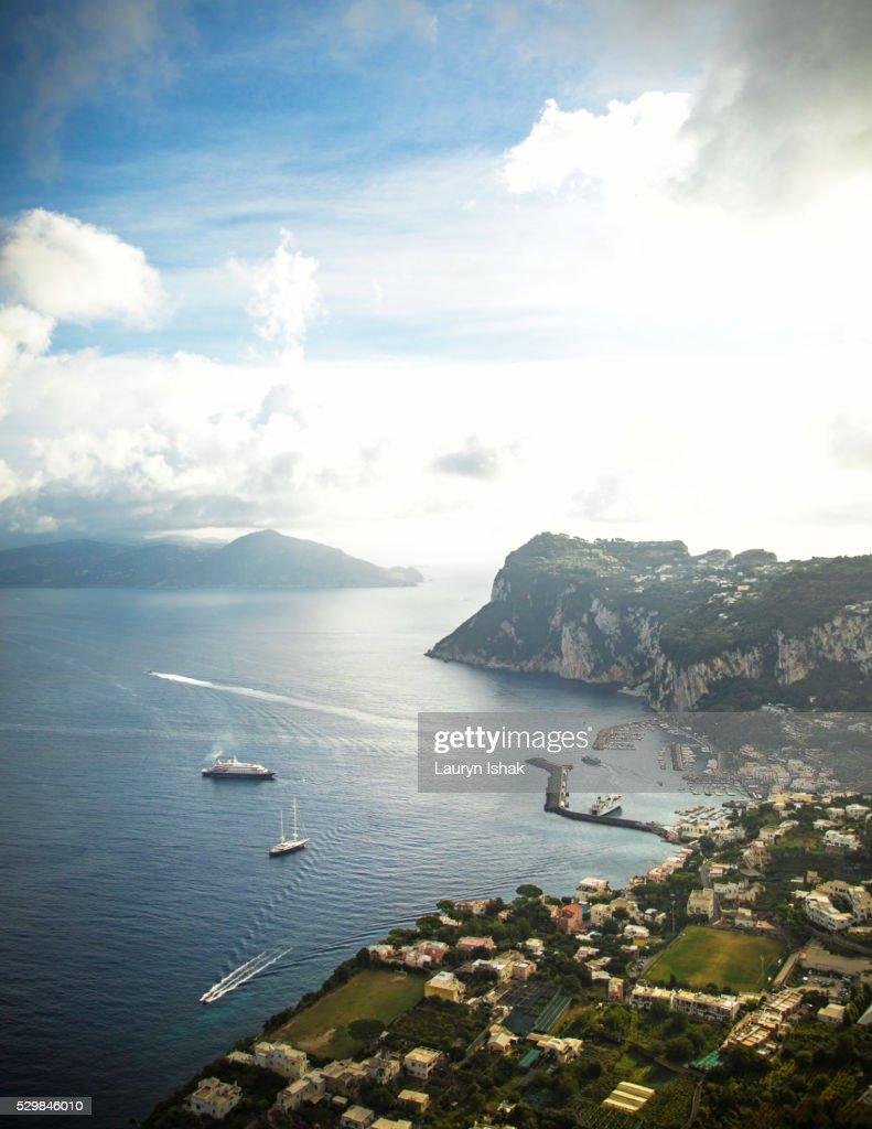 The island of Capri, Italy : Stock Photo