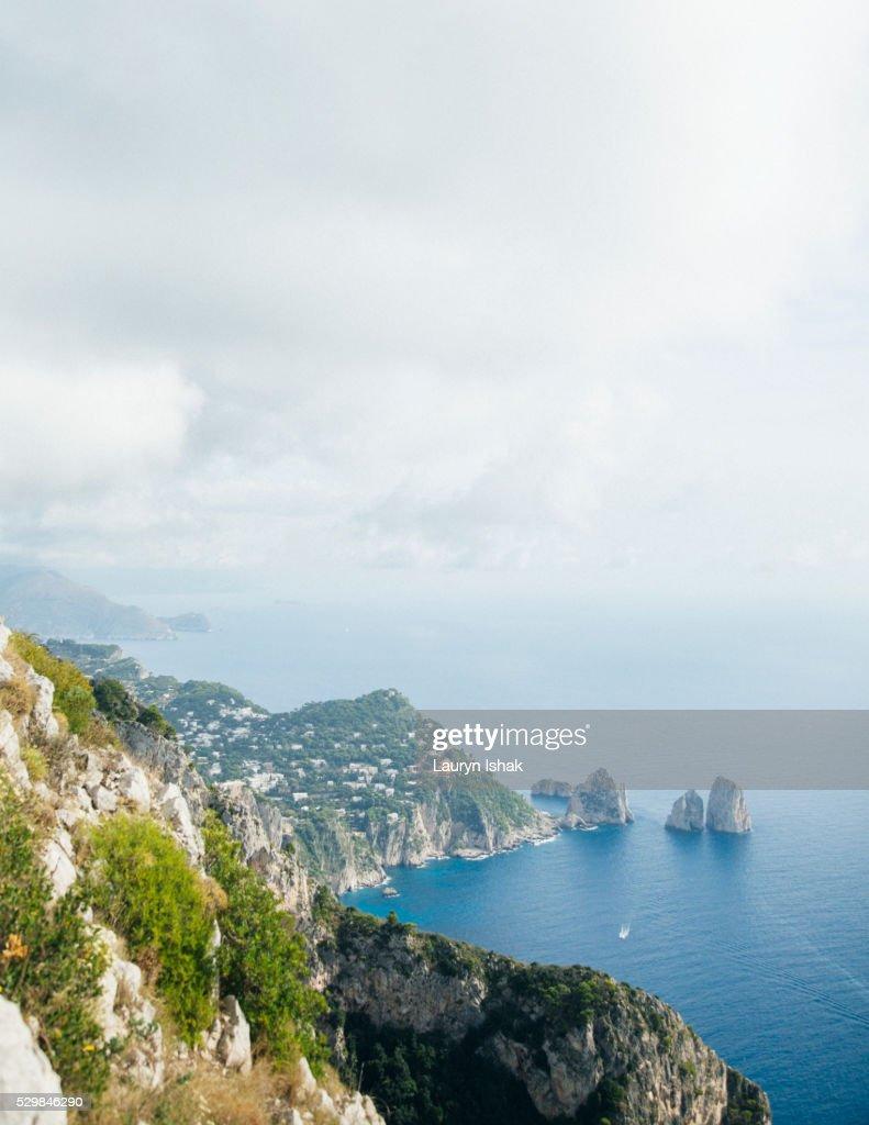 The island of Capri : Stock Photo