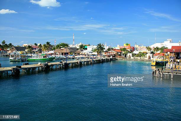 the island of isla mujeres- yucatan, mexico - isla mujeres stock photos and pictures