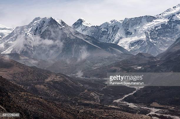 The island peak, Everest region
