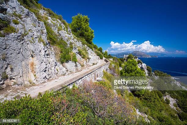 The isle of Capri, Campania