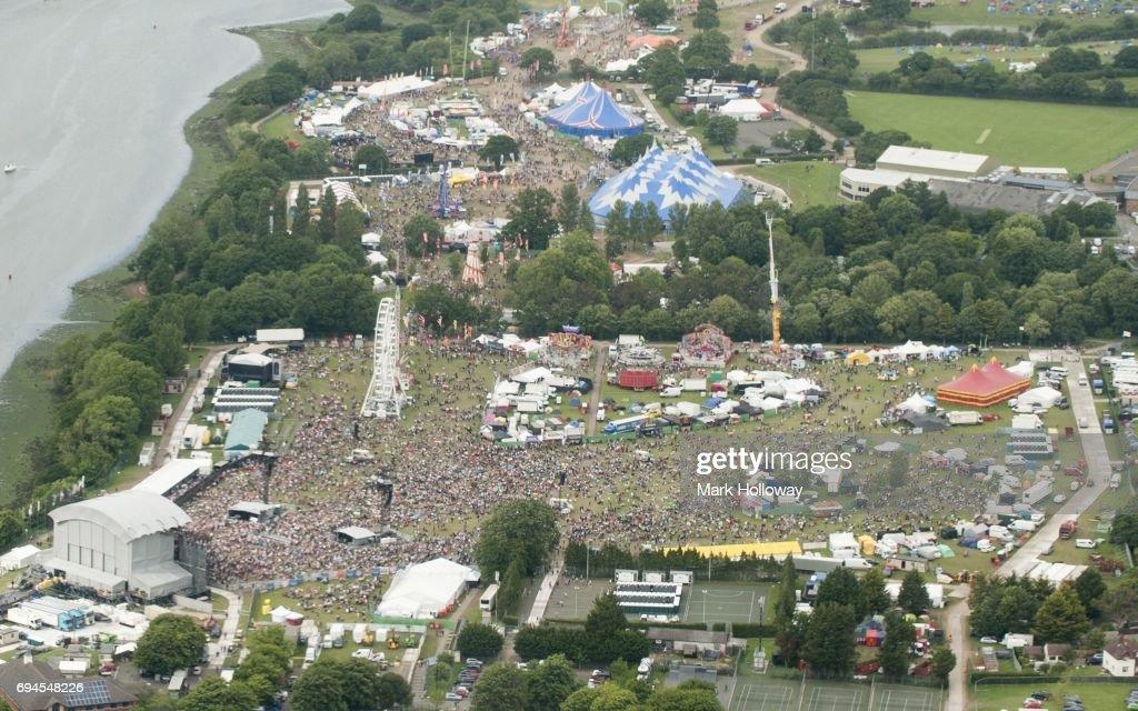 Isle Of Wight Festival - Day 3 : Nachrichtenfoto