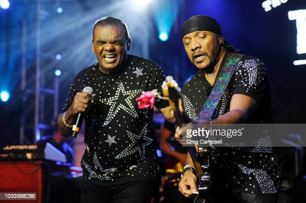The Isley Brothers perform with The Roots at the Six Degrees to Tennessee Roots Jam at New Daisy Theater on September 15 2018 in Memphis Tennessee