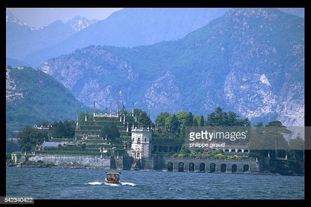The 'Isola Bella' island so called by Charles III Borromeo as a tribute to his wife Isabella of Ada