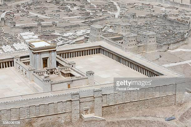 the israel museum. jerusalem in the second temple period. - エルサレム ストックフォトと画像