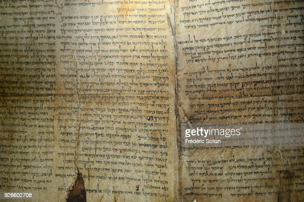 The Israel Museum The Dead Sea Scrolls are a collection of 972 texts discovered between 1946 and 1956 at Khirbet Qumran in the West Bank Since its...