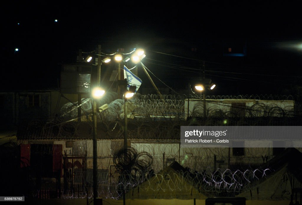 The Israeli administrative custody camp is closed and declared a military zone. Violence broke out after rebel Israeli and Palestinian fighters protested in the occupied territory of Gaza during the first Intifada.