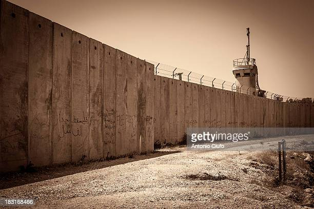 CONTENT] The Israeli separation barrier is a system of physical barriers built by Israel in the West Bank since the spring of 2002 under the name of...