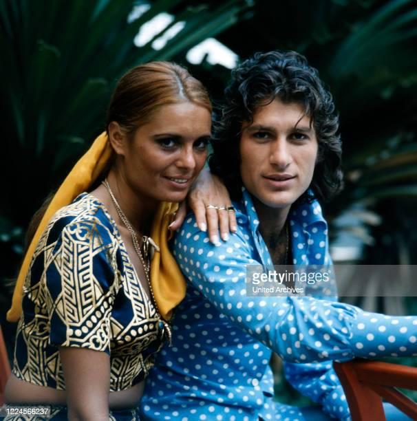 The israeli singer Daliah Lavi together with a friend Rio de Janeiro Brazil 1970