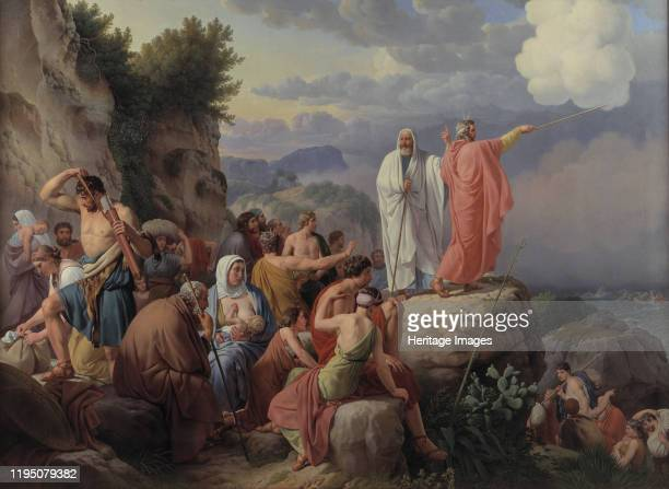 The Israelites Resting after the Crossing of the Red Sea 1816 Found in the Collection of Statens Museum for Kunst Copenhagen Artist Eckersberg...