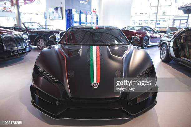 The Italdesign Zerouo at Joe Macari Performance Cars in Wandsworth London The name means Zero One as it is the first production vehicle from...