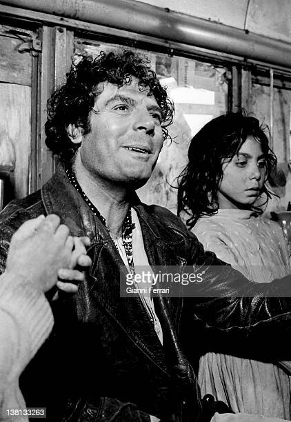 The Italian actor Marcello Mastroianni during the filming of the movie 'Dramma della gelosia ' 10th January 1970 Madrid Spain