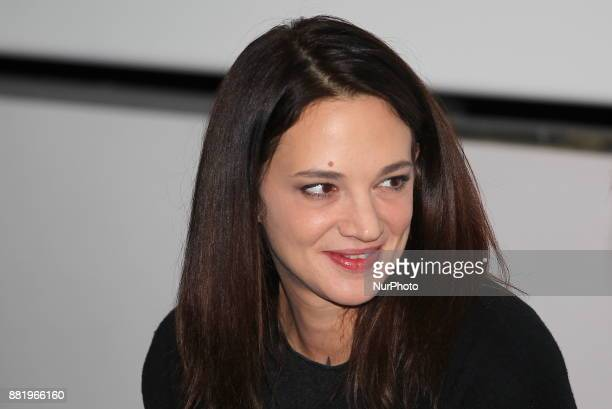 The italian actress Asia Argento guest director of the 35th edition of Torino Film Festival present the movie quotOut Of The Bluequot by Dennis...