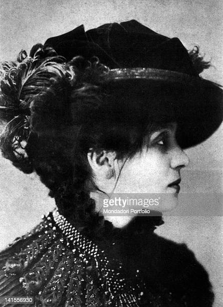 The Italian actress Eleonora Duse playing Gilberta in 'Froufrou' by Ludovic Halevy and Henri Meilhac Italy 1882