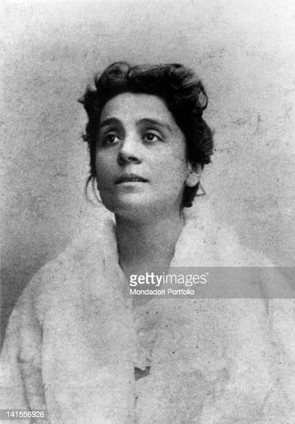 The Italian actress Eleonora Duse playing Santuzza in 'Cavalleria Rusticana' by Giovanni Verga Italy 1884