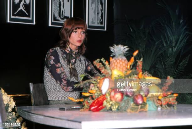 The Italian actress Elsa Martinelli in Madrid First October 1973 Madrid Castilla La Mancha Spain
