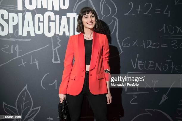 The italian actress Lodovica Comello at the photocall of the film Tonno Spiaggiato directed by Matteo Martinez eith Frank Matano at the Cinema Anteo...