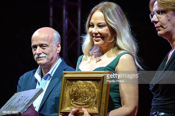 The Italian actress Ornella Muti special guest of the Social World Film Festival She is an Italian beauty icon recognized around the world She...