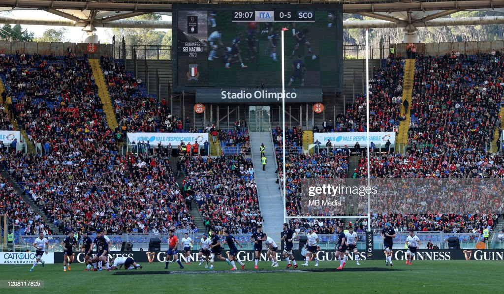 Italy v Scotland - Guinness Six Nations : News Photo