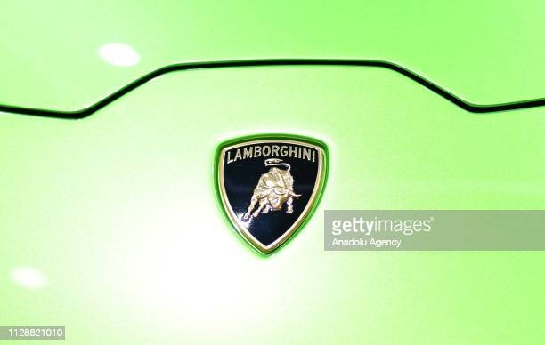 The Italian automaker Lamborghini is displayed their latest cars during the second press day of the 89th Geneva International Motor Show in Geneva...