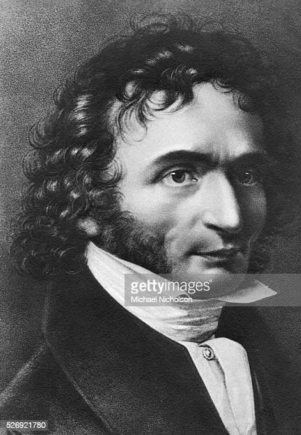 The Italian composer and violinist Paganini