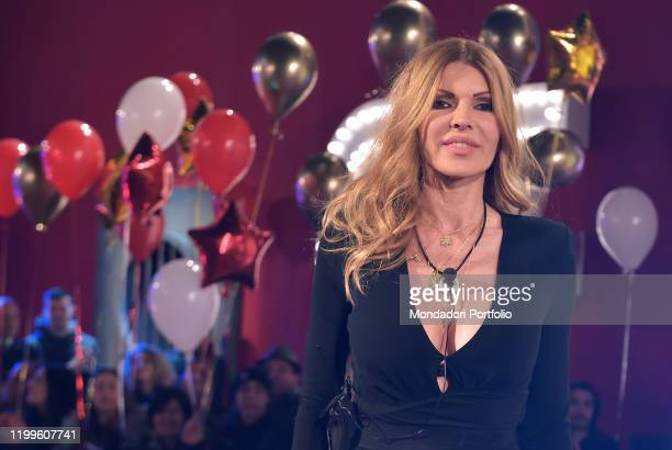 The italian film producer Rita Rusi during the first episode of the transmission Big brother vip 4 at the Cinecittà studios Rome January 8th 2020