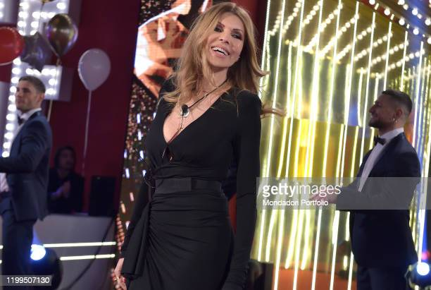 The italian film producer Rita Rusic during the first episode of the transmission Big brother vip 4 at the Cinecittà studios Rome January 8th 2020