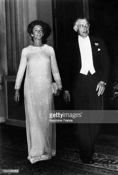 The Italian industrialist Gianni AGNELLI and his wife the Napolitan princess Marella CARRACCIOLO di CASTAGNETOVERS