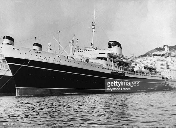 The Italian Liner 'Andrea Doria' Dock In 1956