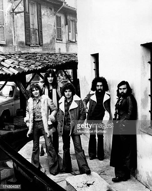 The Italian melodic rock band I Camaleonti is composed again of five elements with the entry into the group of the musician Dave Sumner from left...