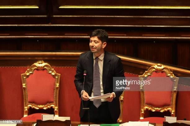 The Italian Minister of Health Roberto Speranza made an urgent disclosure on the Coronavirus to give an account of the initiatives taken at...