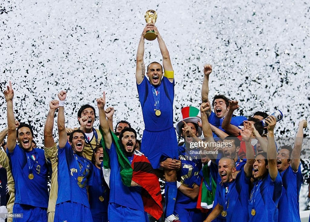 Final Italy v France - World Cup 2006 : Nachrichtenfoto