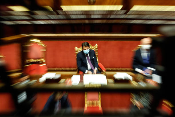 ITA: Italy Senate Information of the Italian Premier about Covid-19 emergency