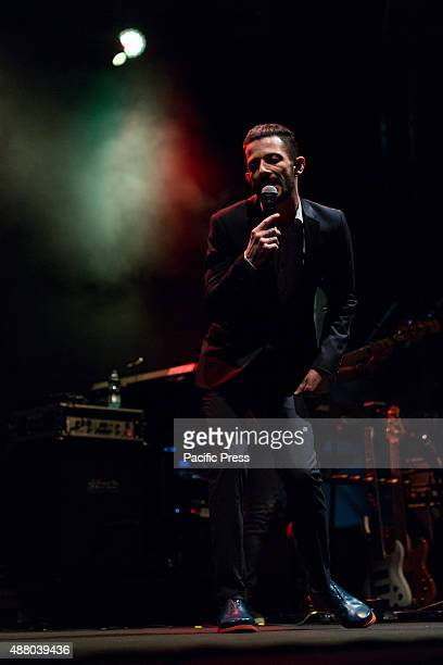 """The Italian rapper and songwriter Francesco Tarducci, aka Nesli, performed live during the third evening of the Festival Ritmika with his """"Andrà..."""