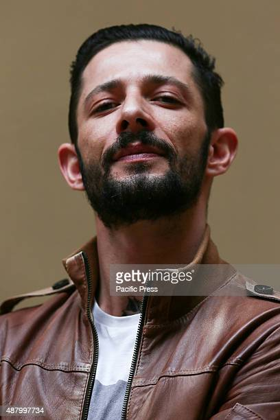"""The Italian rapper and songwriter Francesco Tarducci, also known as """"Nesli"""", during his fans day at Mondadori bookshop to sign autographs of his..."""