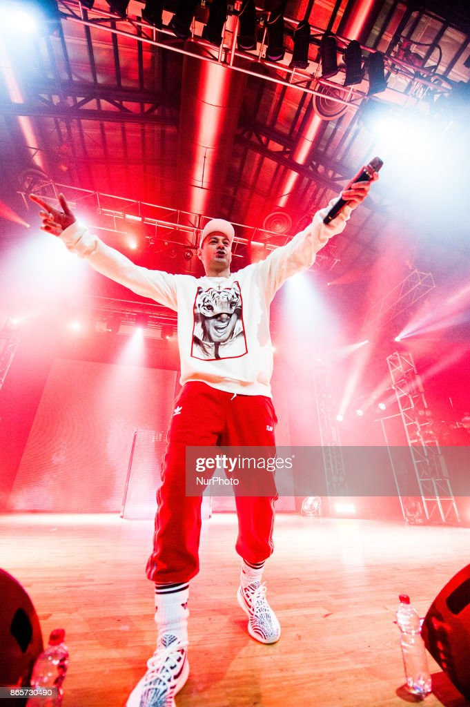 The Italian Rapper Fabri Fibra Performs At Alcatraz In Milan Italy News Photo Getty Images